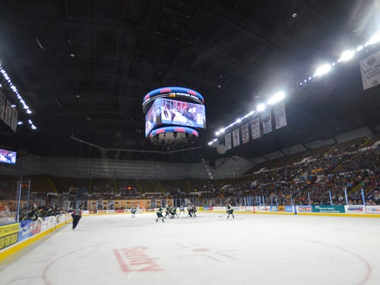 UW-Milwaukee Panther Arena would be a good host site for girls and boys state hockey.