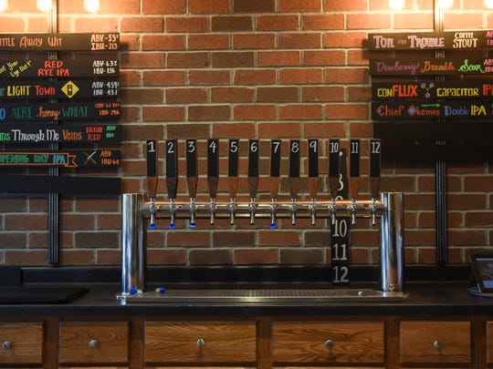ConfluxCity Brewery Company in Portland, Michigan will offer 12 craft beers on tap that are brewed on site.