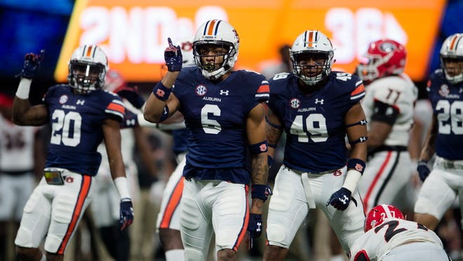 ESPN NFL draft analyst Mel Kiper Jr. projected Carlton Davis (6) to go Day 2 of the 2018 NFL Draft and the former Auburn cornerback  was selected by Tampa Bay in the second round.