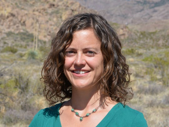 Emily Johnson, assistant professor of igneous petrology at NMSU.