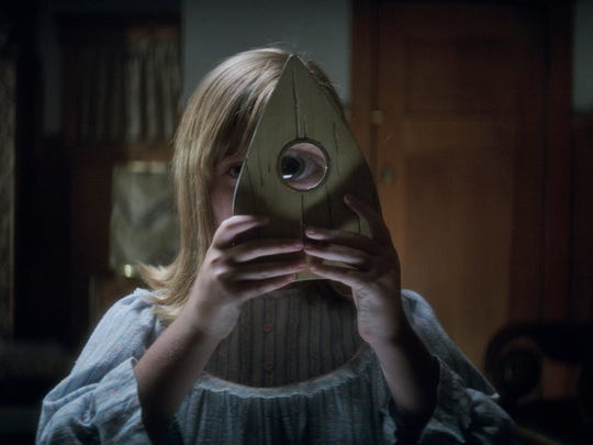 "You don't want to know what Doris (Lulu Wilson) sees through the planchette in "" Ouija: Origin of Evil."""