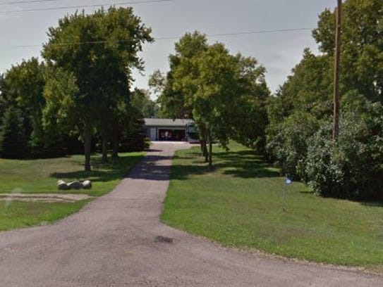 This home in rural Renner, located at 25539 475th St.,