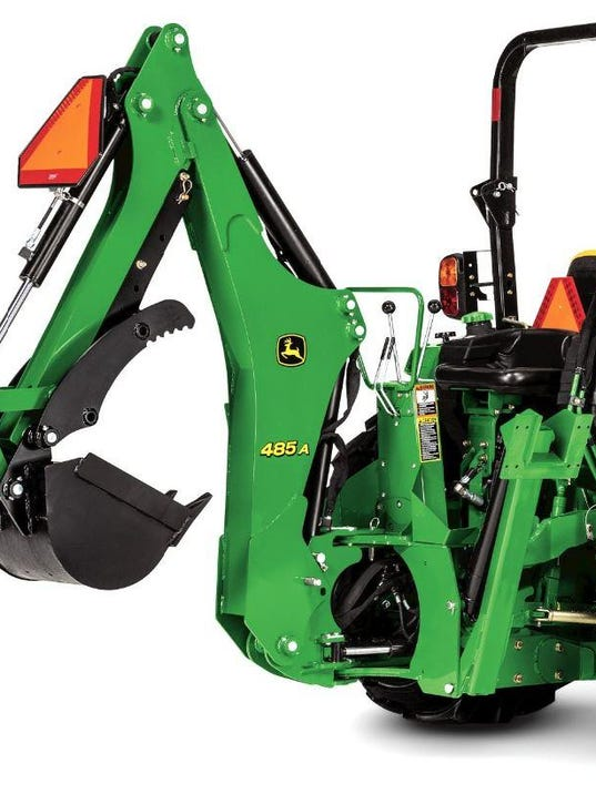 Small Tractor Implements And Attachments : Backhoe attachments off road vehicles recalled