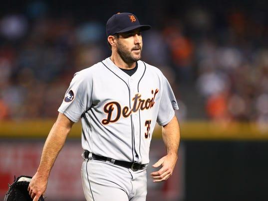 MLB: Detroit Tigers at Arizona Diamondbacks