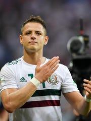 Javier 'Chicharito' Hernández regresa al 'Tri'.