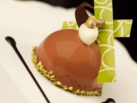 Chocolate Pistachio Dome