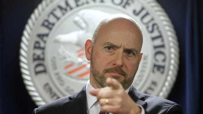 U.S. Attorney Andrew Lelling