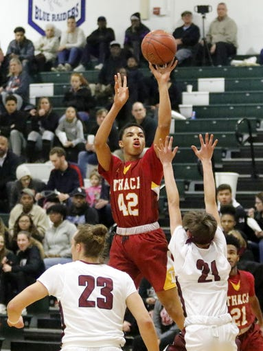 Ithaca was a 55-44 winner over Elmira in a STAC West