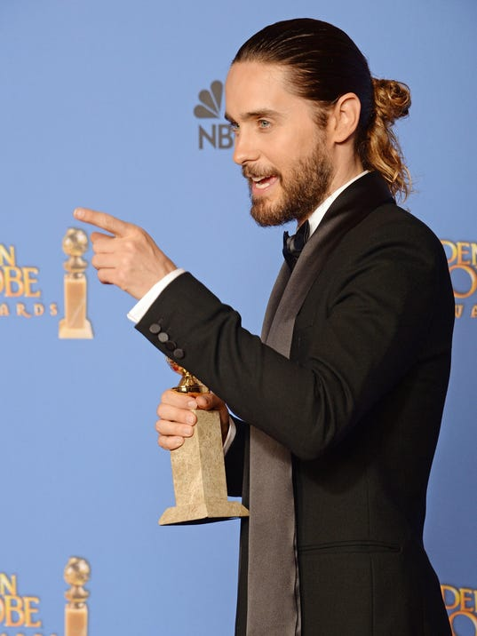US - ENTERTAINMENT - FILM - GOLDEN GLOBES - PRESS ROOM
