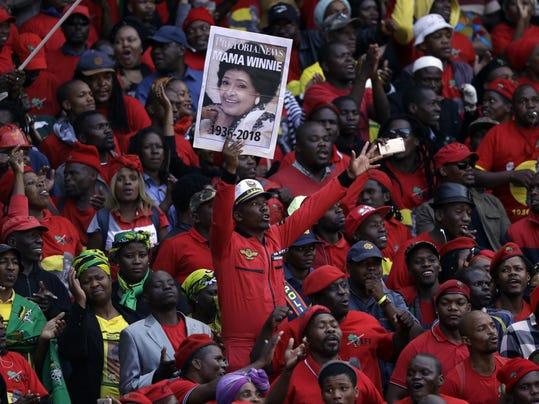 South Africa Madikizela-Mandela Funeral