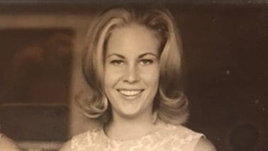 Mary Pat Castro is pictured at the U.S. embassy at El Salvador, where she lived when her father, Raul Castro, was a diplomat in the late 1960s. Raul Castro later would be elected governor of Arizona.
