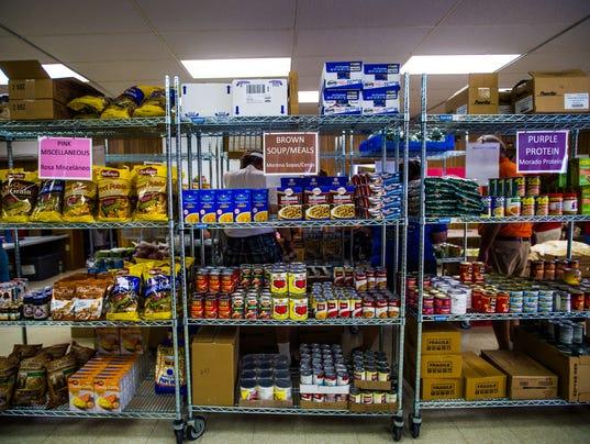 Effort United Methodist Church Food Pantry