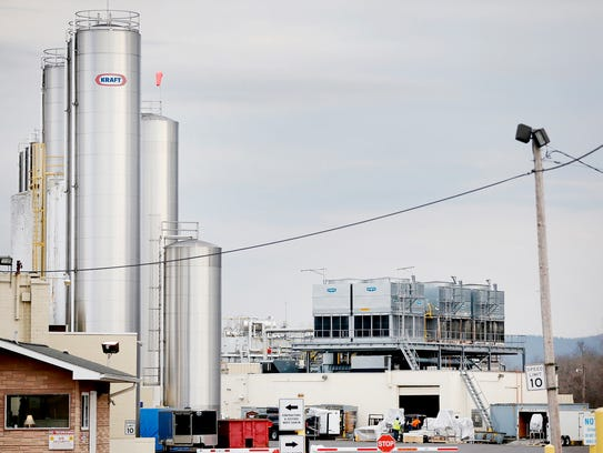 More than 300 Kraft Heinz plant employees were given