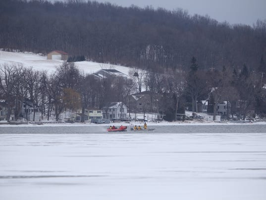 Search on Conesus Lake