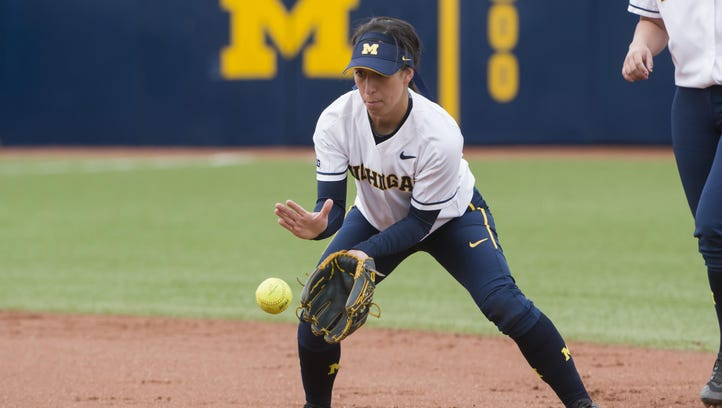 Michigan shortstop Abby Ramirez is hitting .358 after Wednesday afternoon's 8-2 victory over Eastern Michigan.