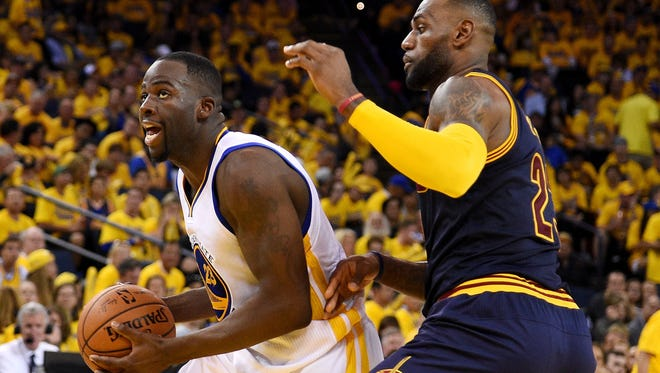 Draymond Green had 28 points, seven rebounds and five assists in the Warriors' Game 2 win.