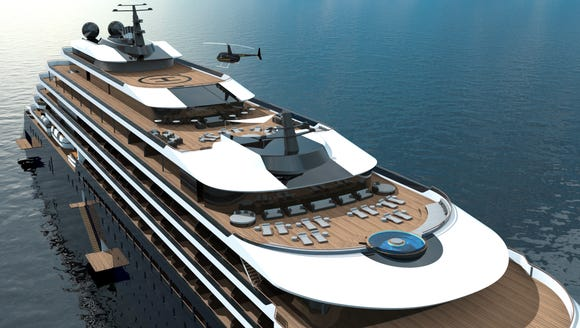 The Ritz-Carlton is getting into the yachting business