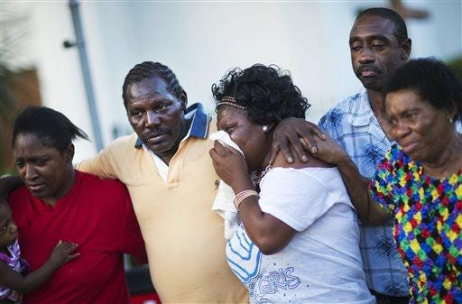 5-Year-Old Girl Survives Charleston Church Shooting By Playing Dead foto