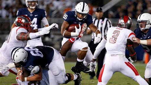 Penn State running back Saquon Barkley is expected to be the featured piece in the Nittany Lions' offense this season.