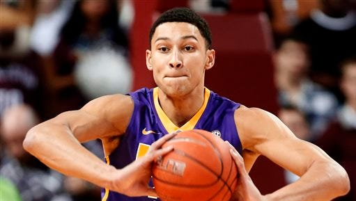 LSU's Ben Simmons is the SEC Freshman of the Year.