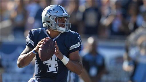 Dallas Cowboys quarterback Dak Prescott has taken his fast start in stride.