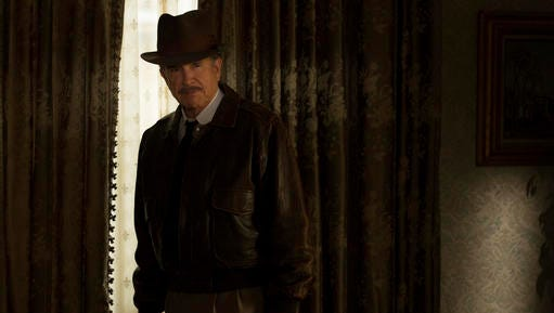 """This image released by Twentieth Century Fox shows Warren Beatty as Howard Hughes in a scene from """"Rules Don't Apply."""""""