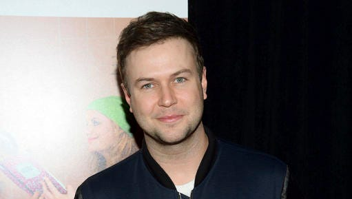"""FILE - In this Dec. 8, 2015 file photo, Taran Killam attends the premiere of """"Sisters"""" in New York. Killam will play King George III in the musical """"Hamilton,"""" taking over from Rory O'Malley on Jan. 17. (Photo by Evan Agostini/Invision/AP, File)"""