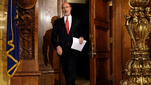 Pennsylvania Gov. Tom Wolf will soon share his proposed budget.