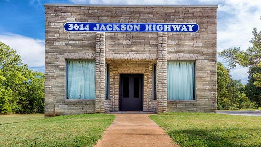 Muscle Shoals Sound Studio was only open for 10 years at 3614 Jackson Highway before moving to a building on Alabama Avenue.