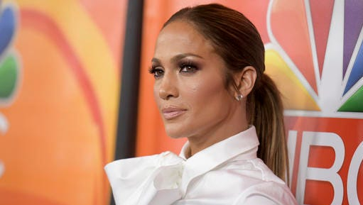 Jennifer Lopez attends the NBCUniversal portion of the 2017 Winter Television Critics Association press tour on Wednesday, Jan. 18, 2017, in Pasadena, Calif. (Photo by Richard Shotwell/Invision/AP)