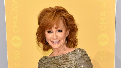 "FILE - This Nov. 2, 2016 file photo shows Reba McEntire at the 50th annual CMA Awards in Nashville, Tenn. McEntire is releasing ""Sing it Now: Songs of Faith & Hope"" on Feb. 3, a double album of inspirational and gospel music. She said the timing was right for her to focus on her faith after she and Narvel Blackstock announced in 2015 they were divorcing after 26 years of marriage."