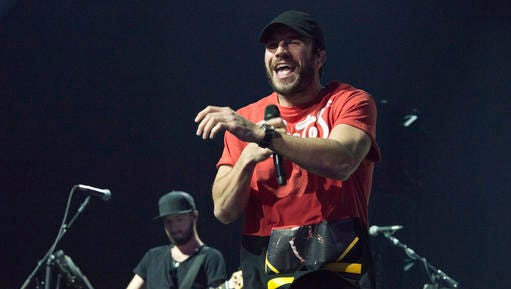 Sam Hunt performs at the EA Sports Bowl at Club Nomadic on Thursday, Feb. 2, 2017 in Houston.
