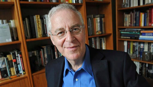 """FILE - In this April 18, 2011 file photo, Author Ron Chernow is shown at his home in the Brooklyn borough of New York.  Chernow, the historian who helped inspire the musical """"Hamilton,"""" has a biography of Ulysses Grant coming out in October. Penguin Press is calling the book """"Grant"""" and plans to release it October 17, 2017 the publisher told The Associated Press on Wednesday, Feb. 8."""