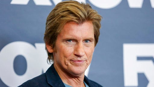 """FILE - In this Tuesday, Aug. 9, 2016, file photo, Denis Leary, a cast member in the television series """"Sex & Drugs & Rock & Roll,"""" arrives at the FX Television Critics Association summer press tour in Beverly Hills, Calif. The actor-comedian is following his 2008 best-seller, """"Why We Suck,"""" with the more uplifting """"Why We Don't Suck,"""" Crown Archetype told The Associated Press on Wednesday, May 3, 2017. The book is scheduled for November 2017."""