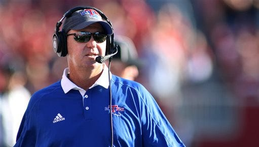 Louisiana Tech's Skip Holtz signed more than a dozen players on Wednesday.