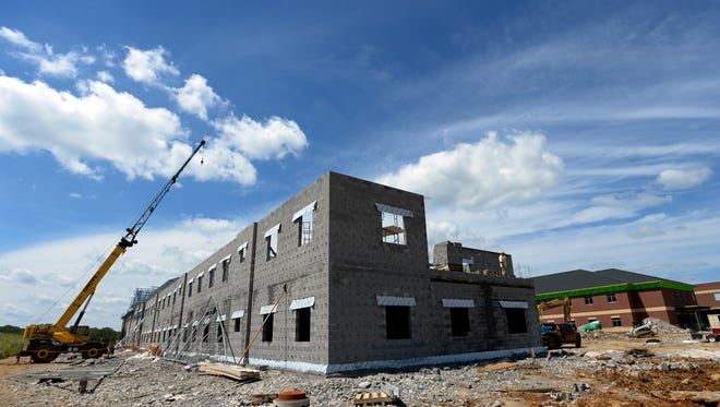 An elementary and middle school are being built on Clayton Arnold Road in Thompson's Station. The schools, which have not been named yet, are expected to open in fall 2018 to  keep up with growth in Williamson County.
