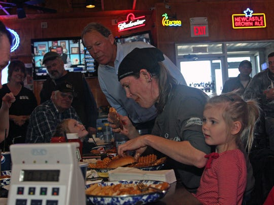 Molly Schuyler became the first person to complete the Adam Emmenecker Challenge at all four Jethro's locations in 2013.
