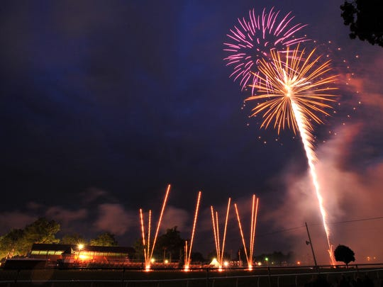 The normal fireworks show will not happen this year, but Ken Sprague of Hamburg Fireworks, is planning a three-minute show to take place on Mt. Pleasant on July 4.