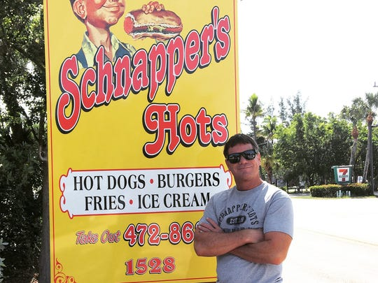 Dave Acheson, the owner of the longtime Schnapper's Hots Char-Grill in Sanibel, is opening a second location in the tiny red A-frame on U.S. 41 in downtown Naples that hosted Dairy Queen for decades.