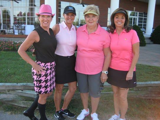 Frances Hogue, Jeri Lamb, Carlene Henry, Kathy Nobles