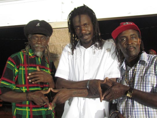 The reggae group Culture performs Saturday in Stowe.