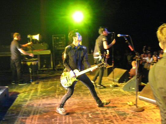 Anti-Flag on stage at Tempe's Marquee Theatre
