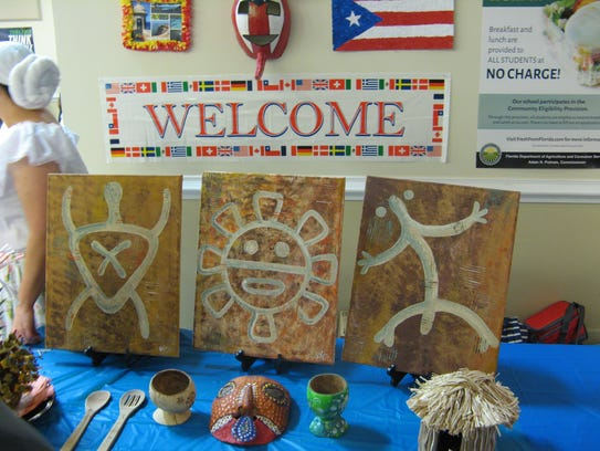 International Night showcases the school's welcoming
