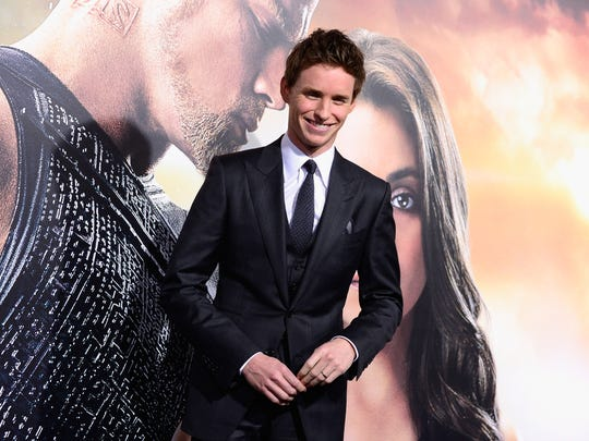 Eddie Redmayne hopped from one event to the next on