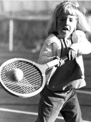 Tracy Austin was a child prodigy on the tennis court,