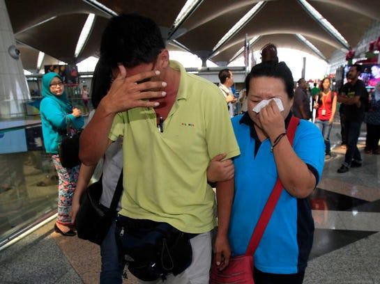 AP APTOPIX Malaysia Plane