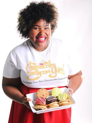 Monique Williams, owner of The Cheesecake Empori-Yum in Montgomery, is presenting the first Capitol City Cheesecake Chase on Sunday.