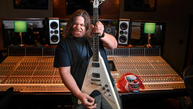 After years in a small music studio in the Williamson County countryside, hard rock producer Nick Raskulinecz now works out of Rock Falcon Studio on Music Row.