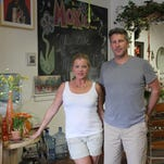 Cambria Hunt and Brian Anderson opened Moxie Flowers and More in Nixa last November.