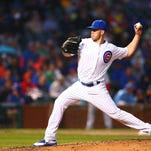 Lafayette's Clayton Richard, optioned back to Triple A by the Chicago Cubs last week, is focusing on performance and not the unpredictability of roster moves.
